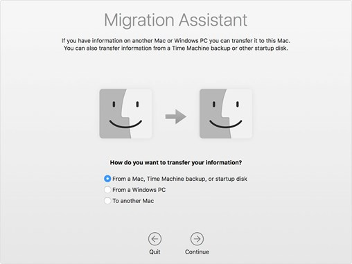 The Migration Assistant Utility